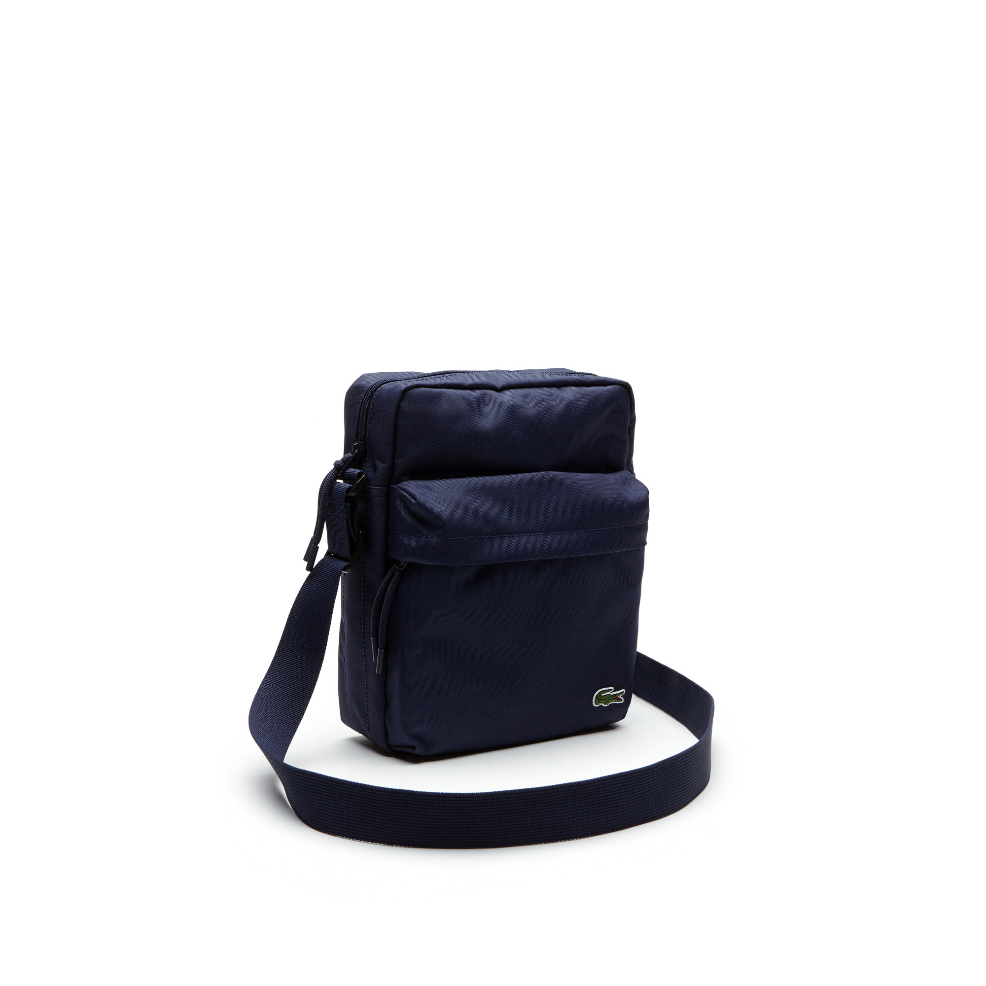 Lacoste Men's Neocroc Canvas Zip Bag