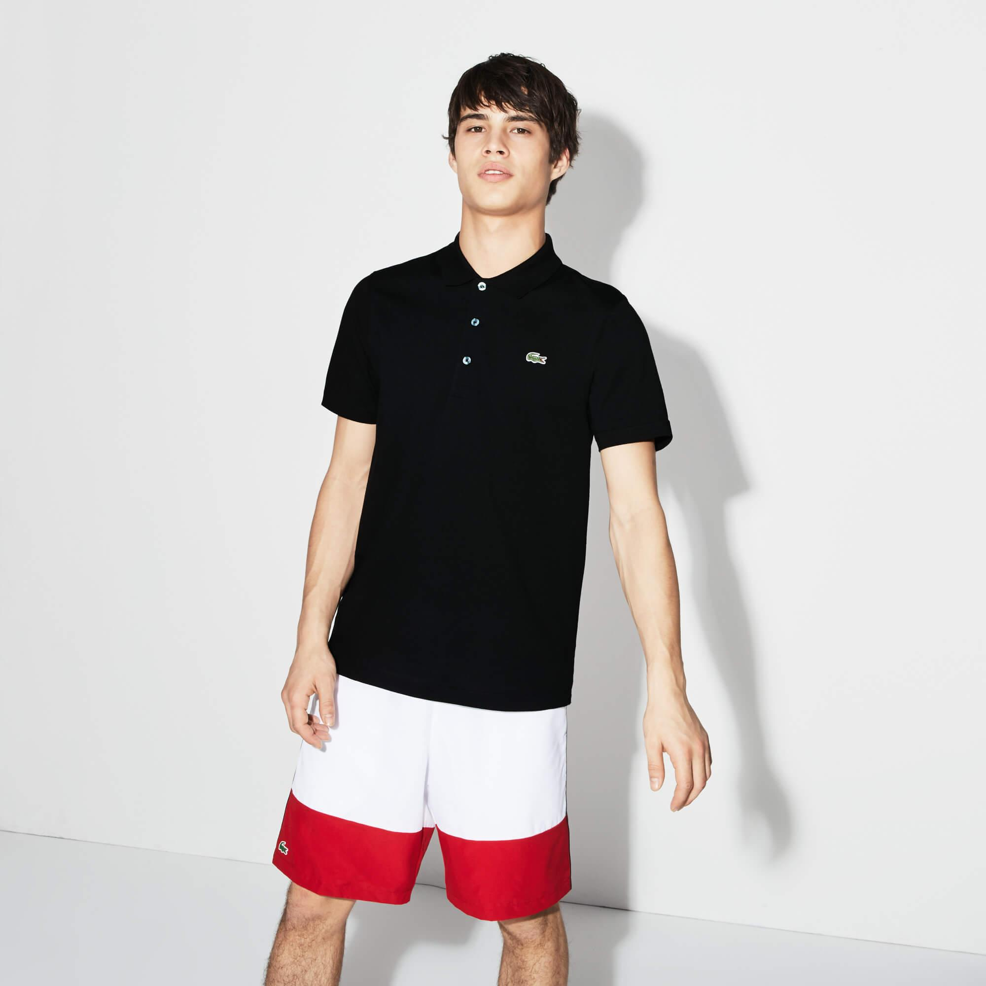 Lacoste Sport Men's Tennis Regular Fit Polo in Ultra-Lightweight Knit