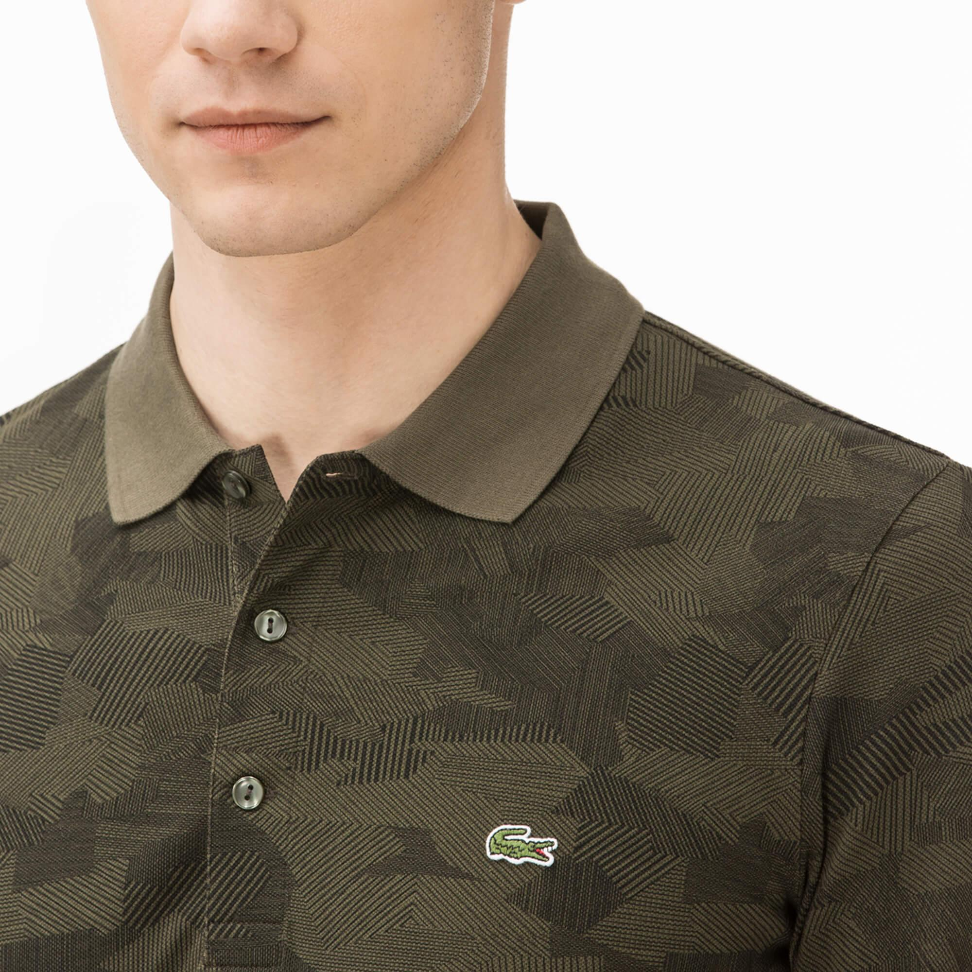 Lacoste Men's Regular Fit Merino Wool Polo