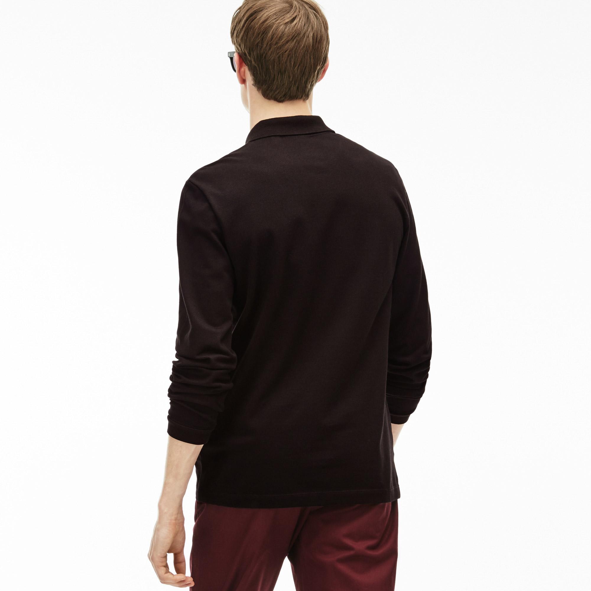 Lacoste Men's Slim Fit Stretch Mini Piqué Polo