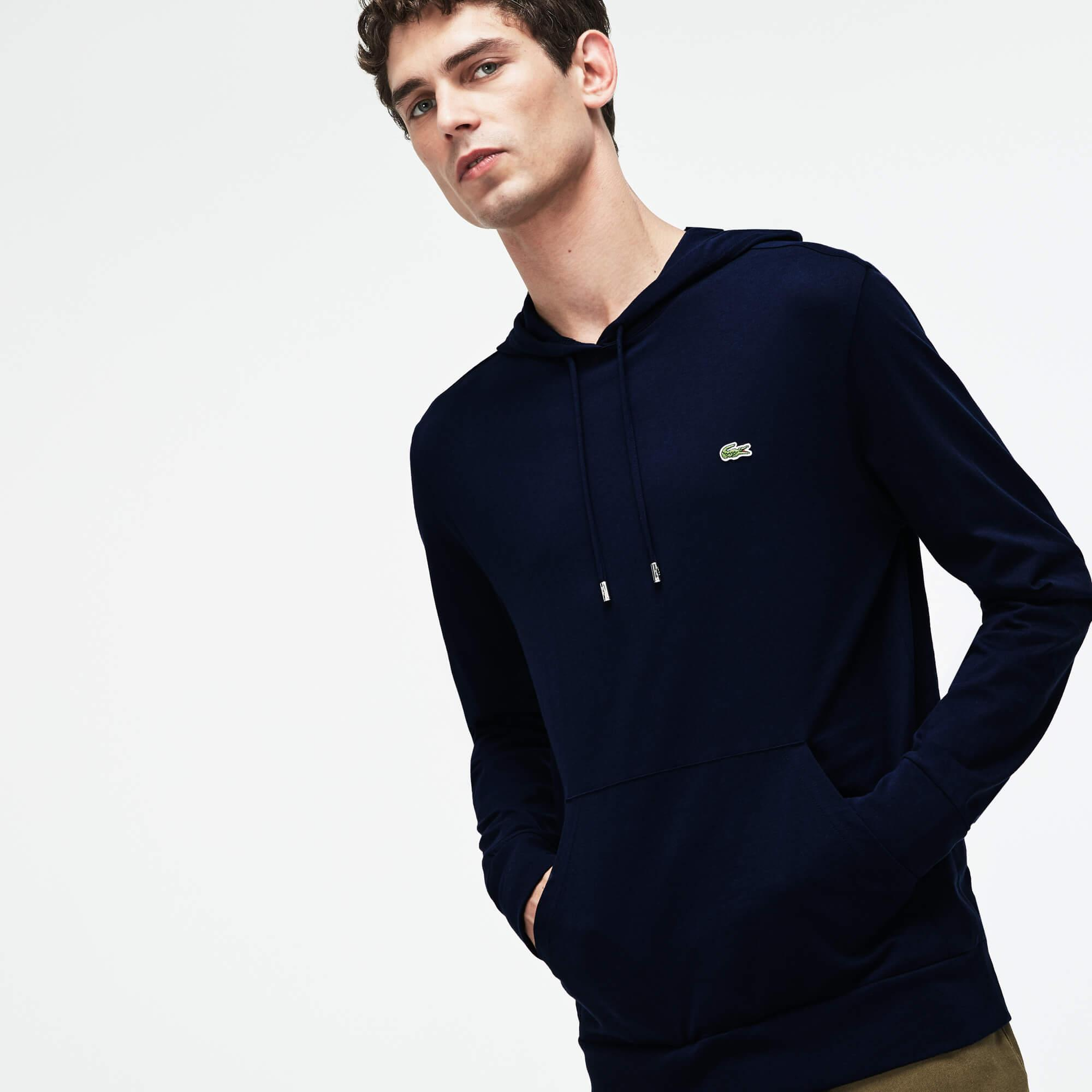 Lacoste Men's Hooded Cotton Sweatshirt