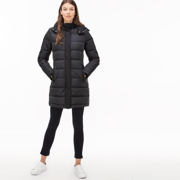 Lacoste Women's Long Puffer Coat