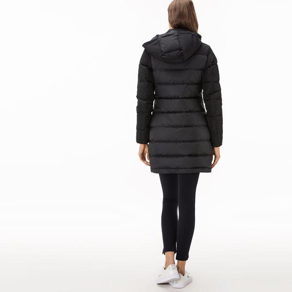 Lacoste Women's Long Puffer Coat
