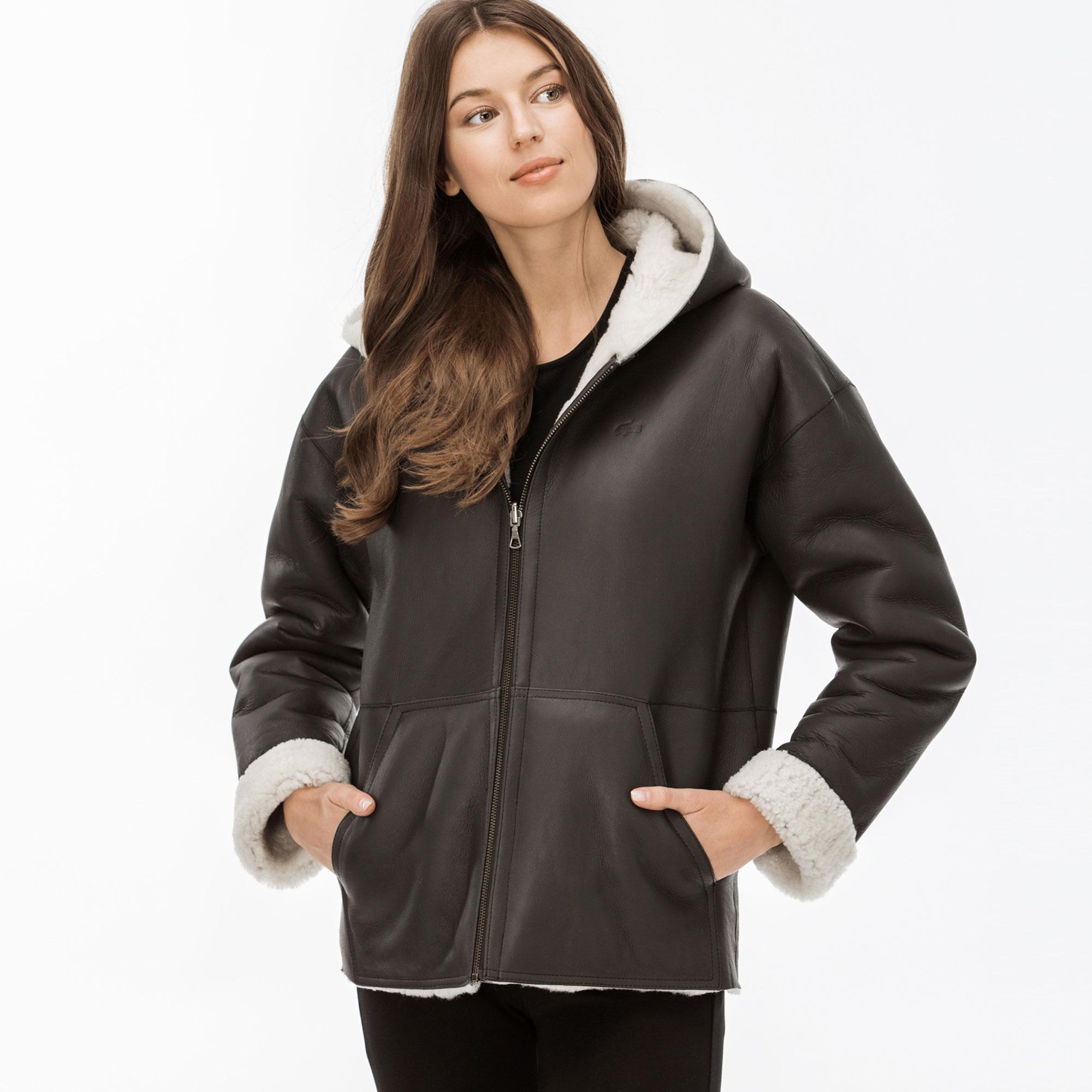 Lacoste Women's Leather Jacket