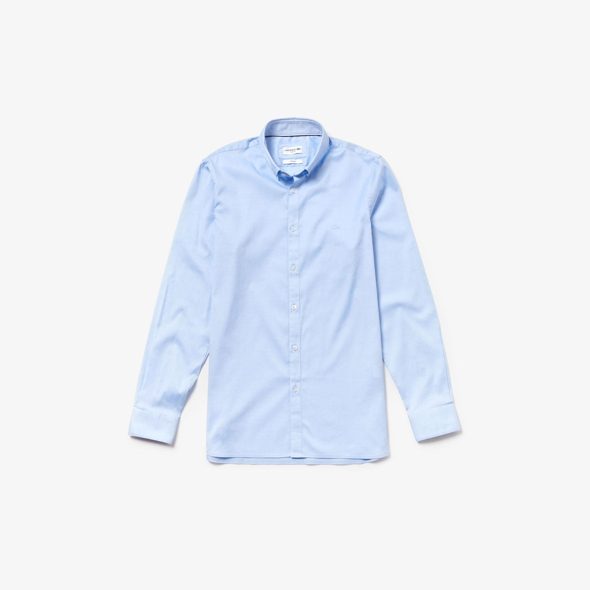 Lacoste Men's Long Sleeve Wovens Shirt