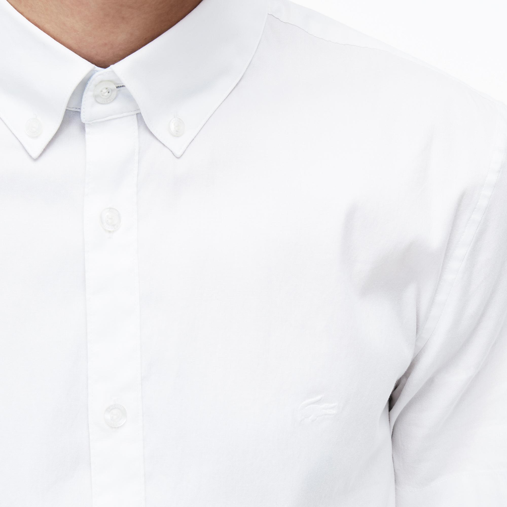Lacoste Men's Short Sleeve Wovens Shirt