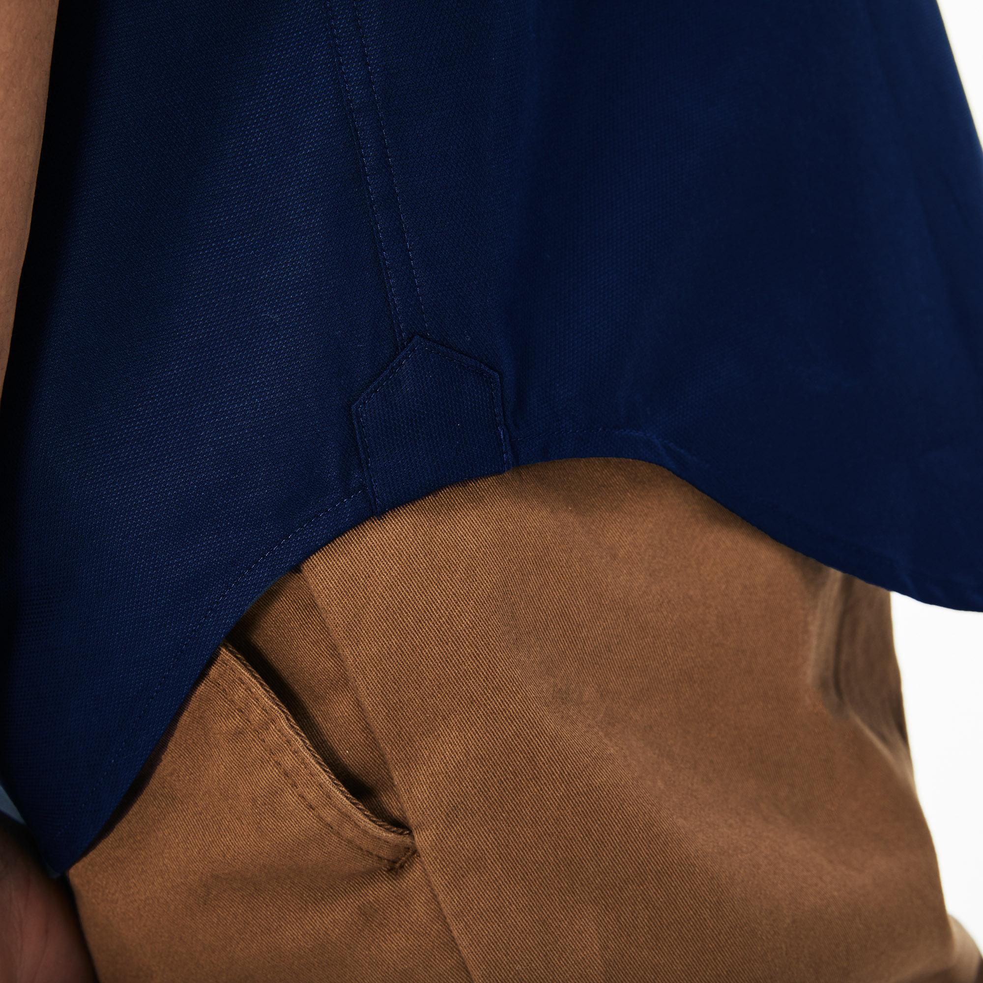 Lacoste Men's Regular Fit Mini Piqué Shirt