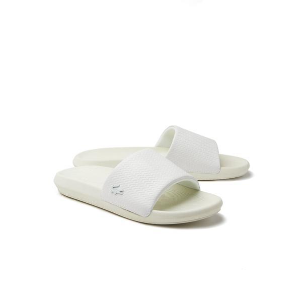 Lacoste Croco Slide 119 4 Women's Leather Slippers