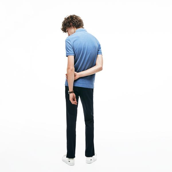 Lacoste Men's Paris Polo Regular Fit Stretch Cotton Piqué