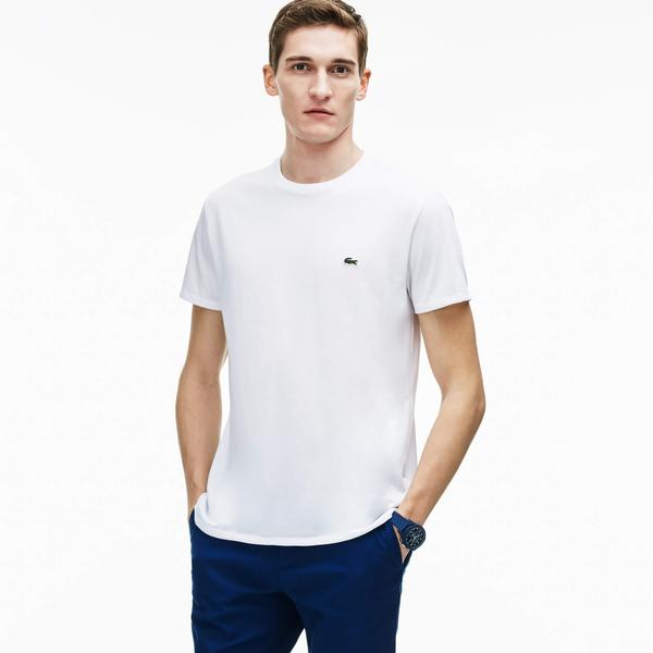 Lacoste Men's Crew Neck Pima Cotton Jersey T-Shirt
