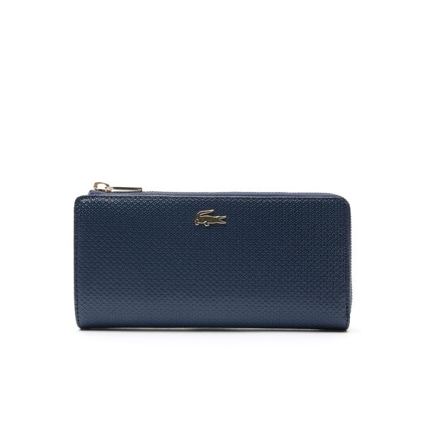 Women's Chantaco Piqué Leather 8 Card Wallet