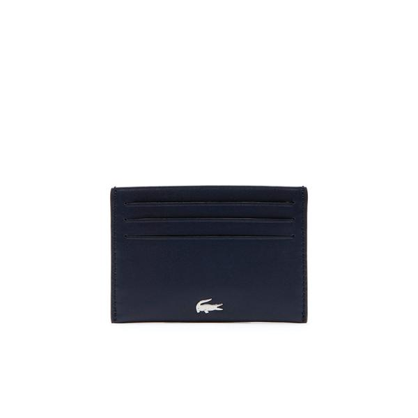 Lacoste Men's Fitzgerald Credit Card Holder İn Leather