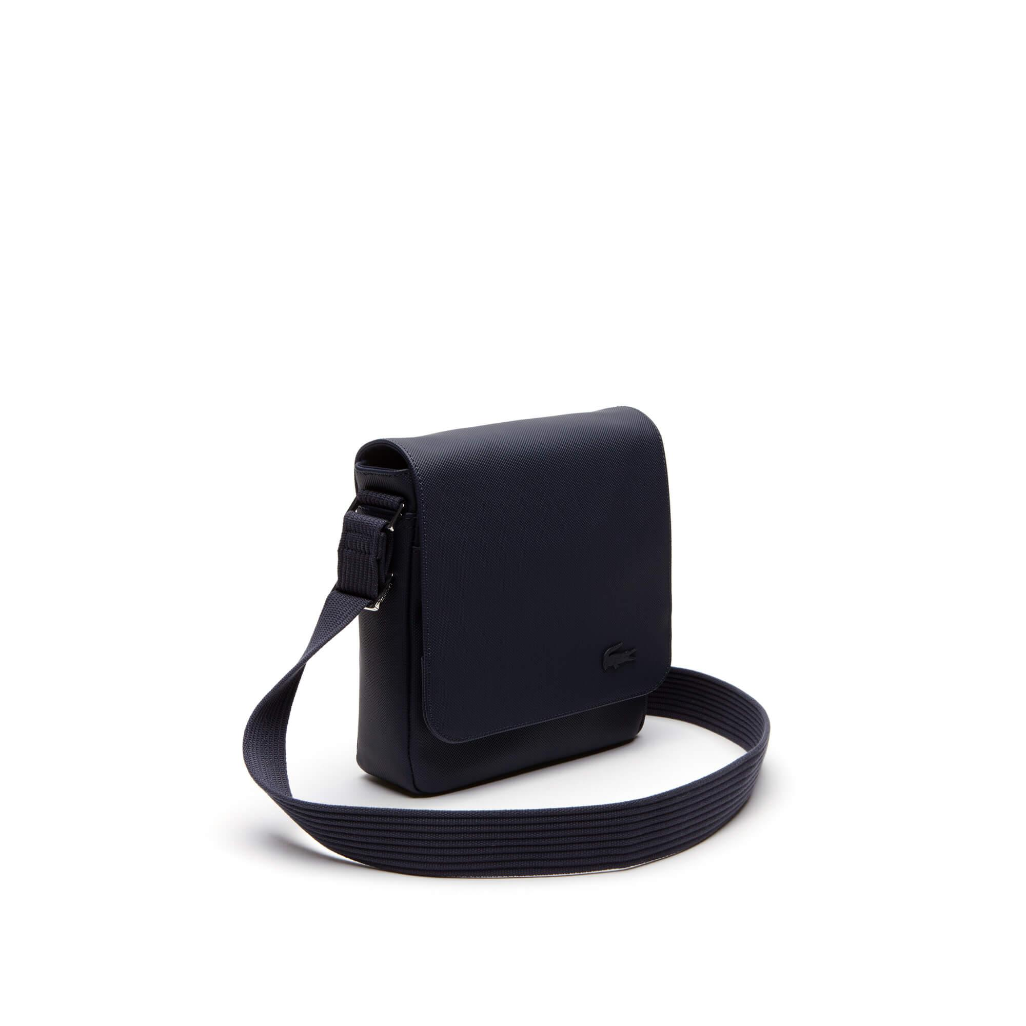 Lacoste Men's Classic Petit Piqué Flap Bag