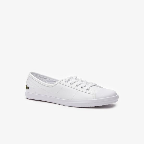 Lacoste Women's Ziane Leather Sneakers