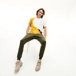 Lacoste Men's Crew Neck Colourblock Thermoregulating Piqué T-Shirt