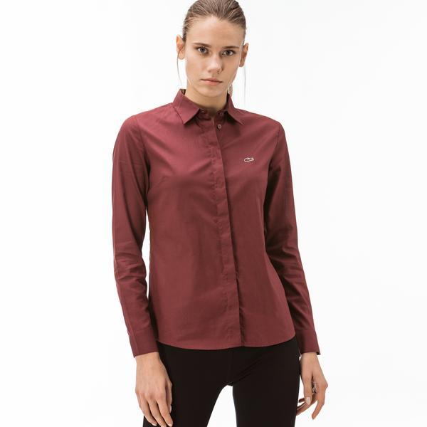Lacoste Women's L/S woven shirt