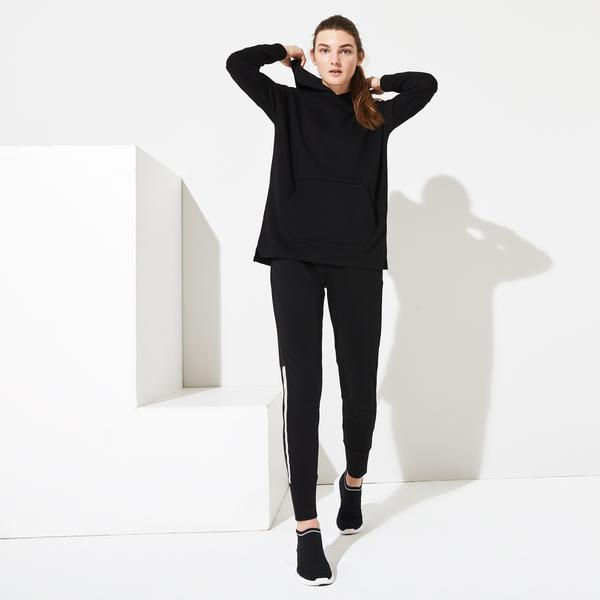 Lacoste Women's SPORT Hooded Fleece Tennis Sweatshirt