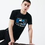 Lacoste Sport Men's Tennis Court Design Breathable T-Shirt