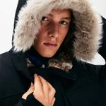 Lacoste L!VE Unisexfaux Fur Hooded Parka