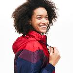 Lacoste Women's Optional Colourblock Reversible Water-Resistant Quilted Jacket