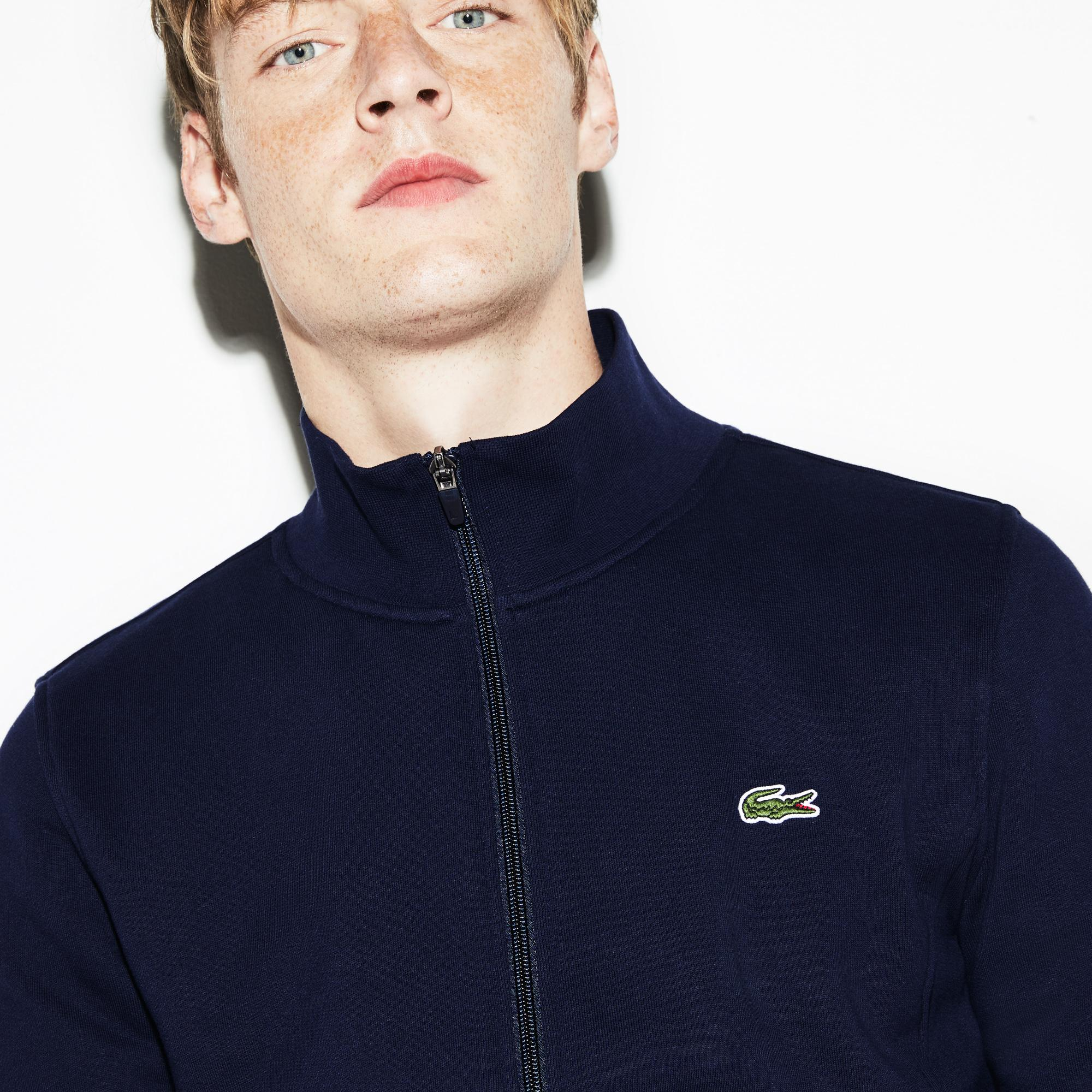 Lacoste Men's Sport Zip-Up Fleece Sweatshirt