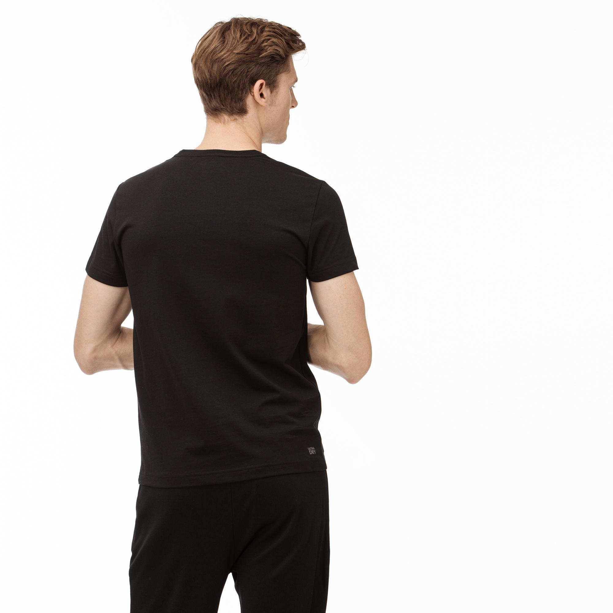Lacoste Sport Men's Graphic Print Breathable T-Shirt