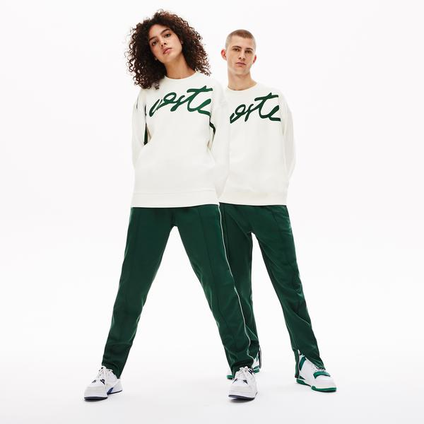 Lacoste L!VE Unisex Signature Texturized Fleece Sweatshirt
