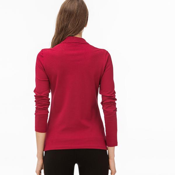 Lacoste Women's Slim Fit Stretch Mini Piqué Polo