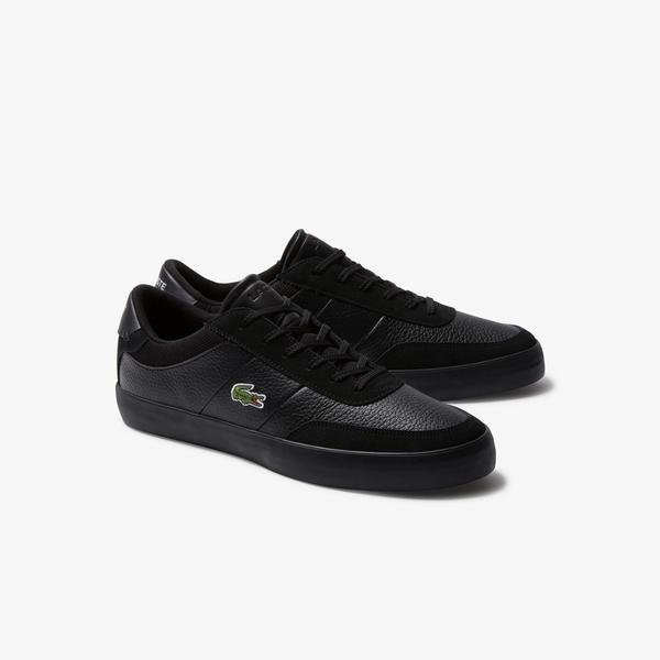 Lacoste Men's Court-Master 120 4 Cma Casual Leather Shoes