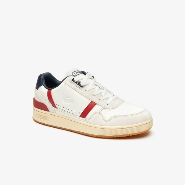 Lacoste Men's T-Clip Evo 120 2 Us Sma Leather Sneakers
