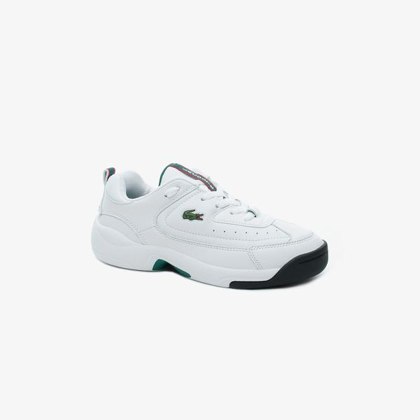 Lacoste Men's V-Ultra Og Leather Sneakers
