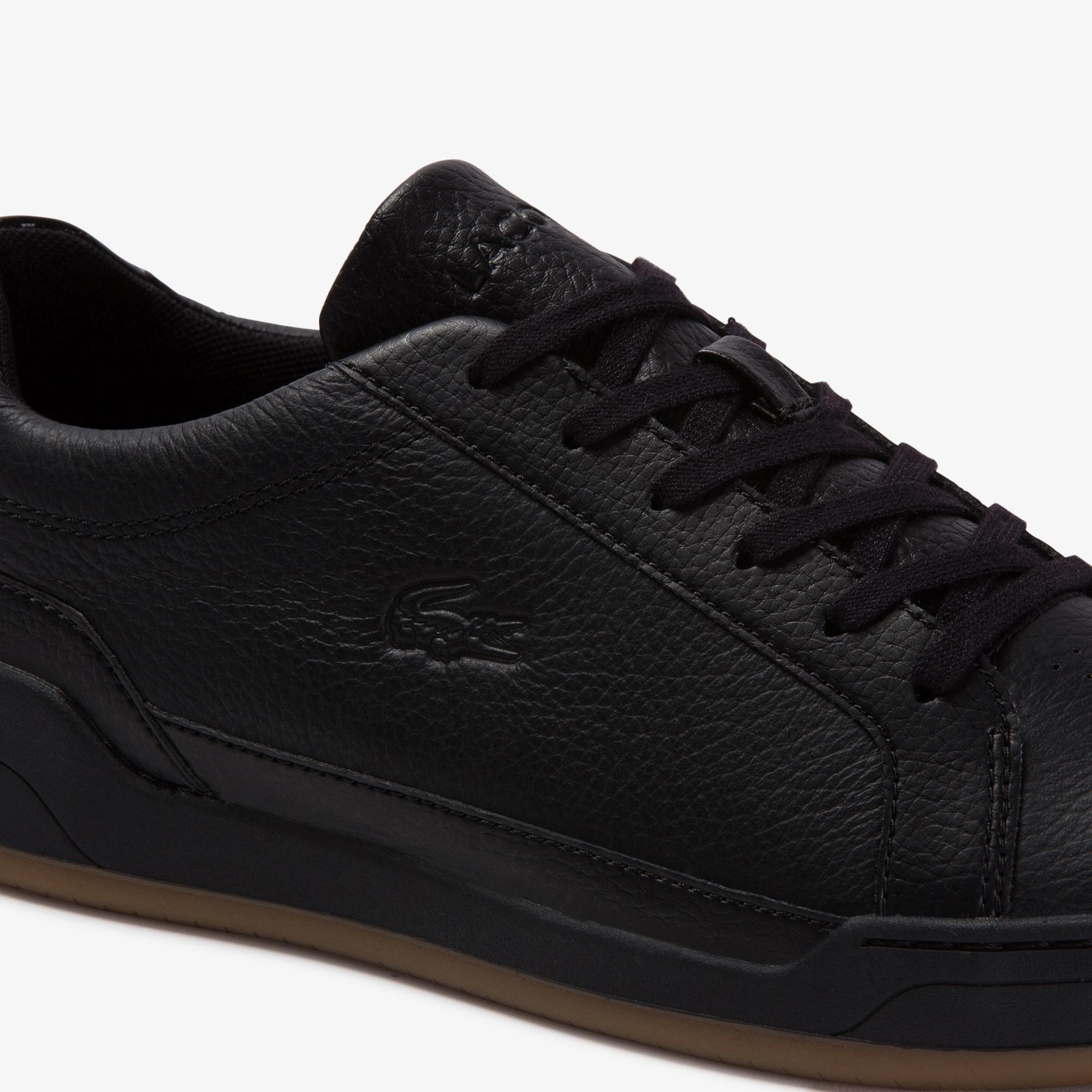 Lacoste Men's Challenge Tumbled Leather Sneakers
