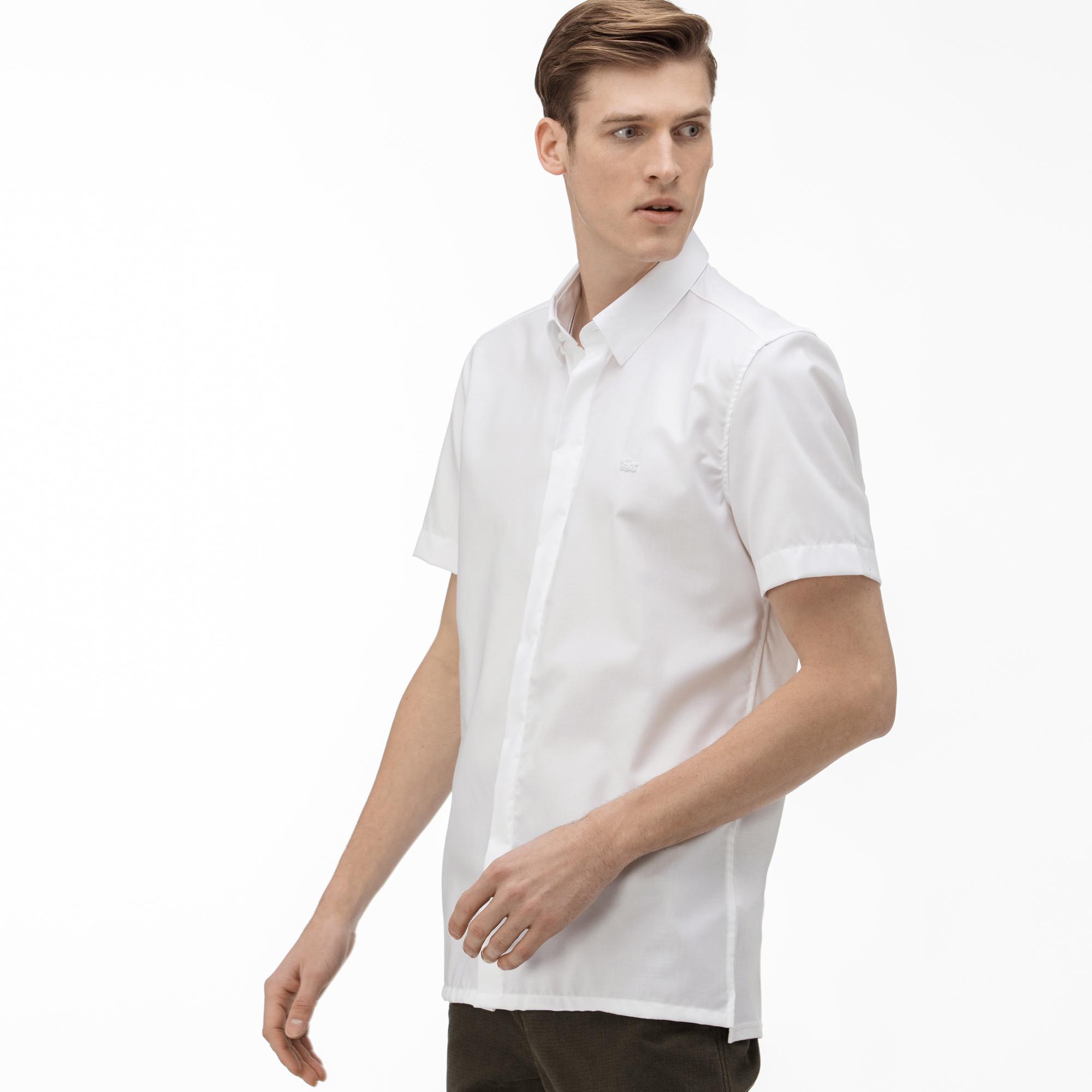 Lacoste Men's Slim Fit Short Sleeve Shirt