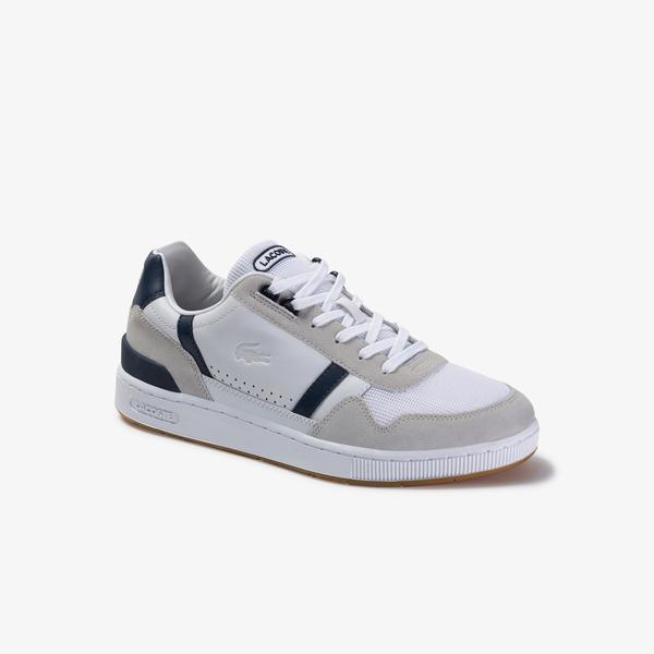 Lacoste Men's T-Clip Evo 120 2 Us Sma Leather Sneakers