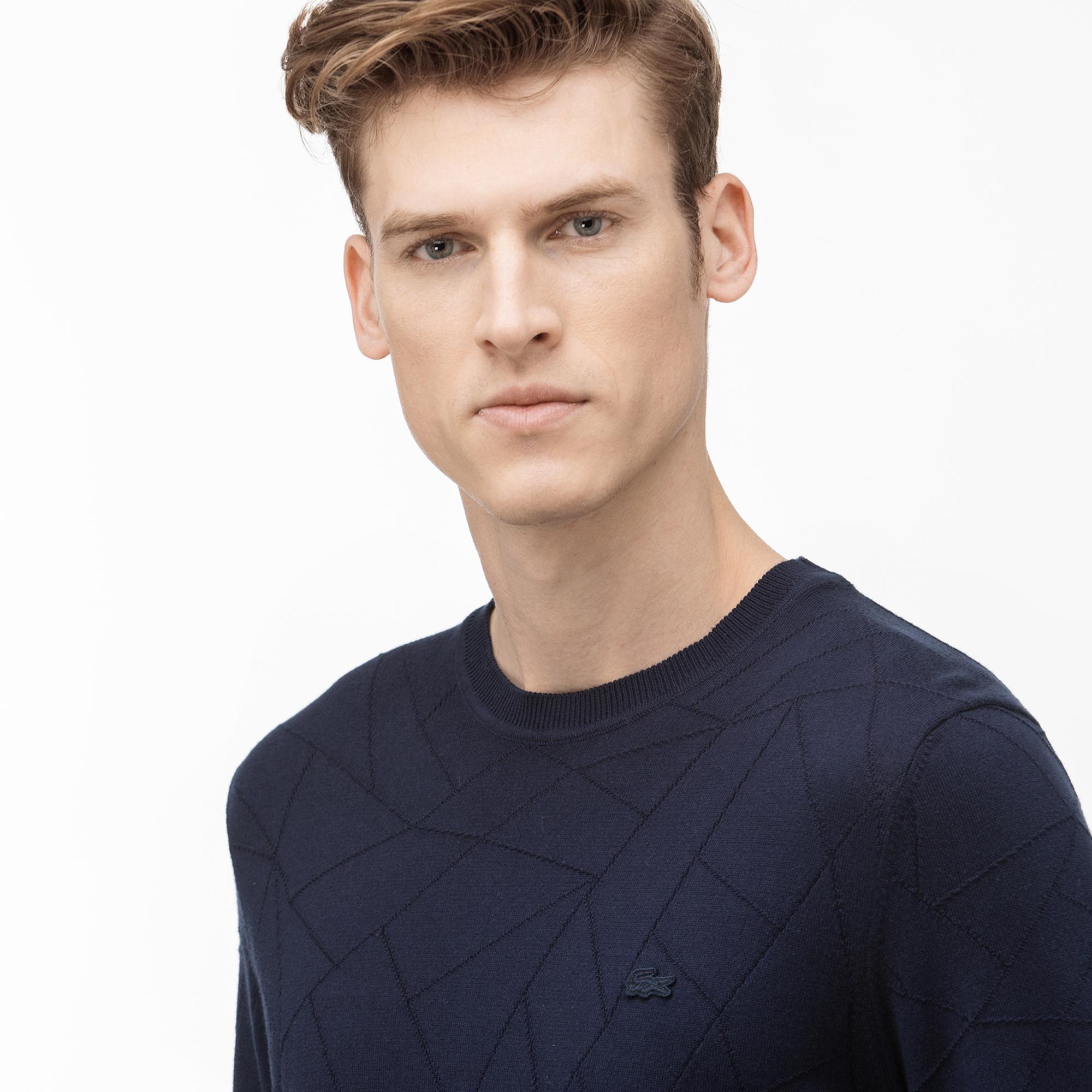 Lacoste Men's Round Neck Tricot Sweater