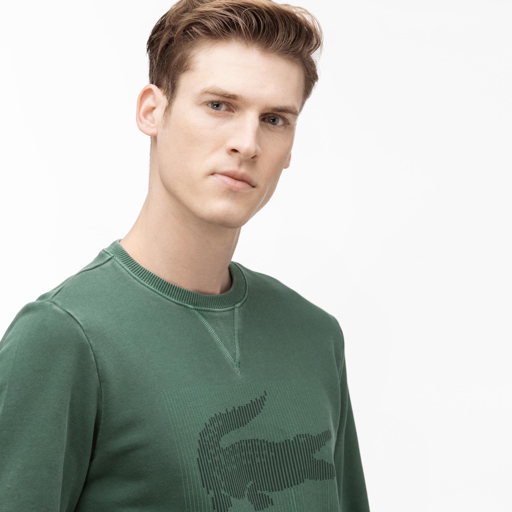 Lacoste Men'S Round Neck Graphic T-Shirt
