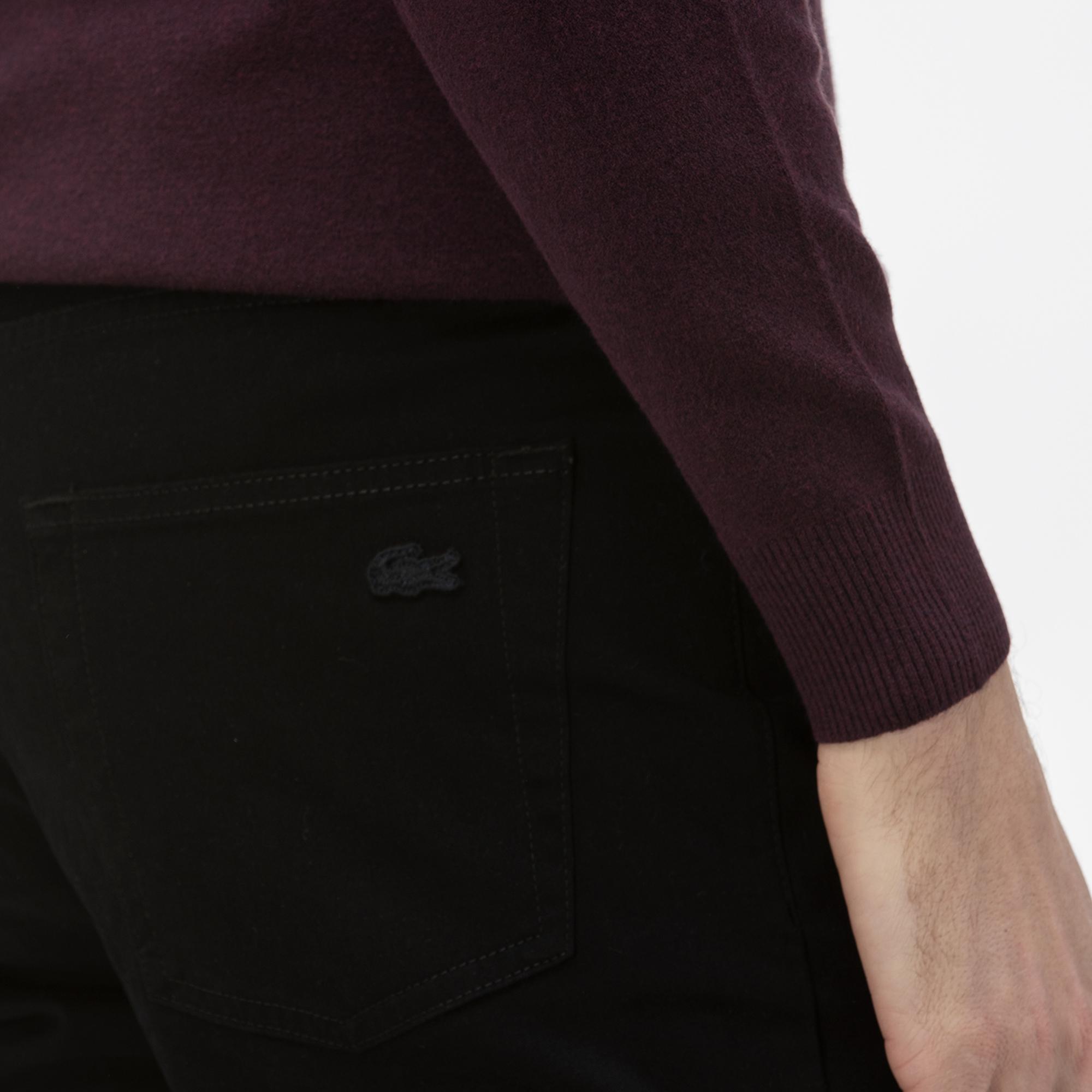 Lacoste Men's Slim Fit 5-Pocket Stretch Cotton Pants