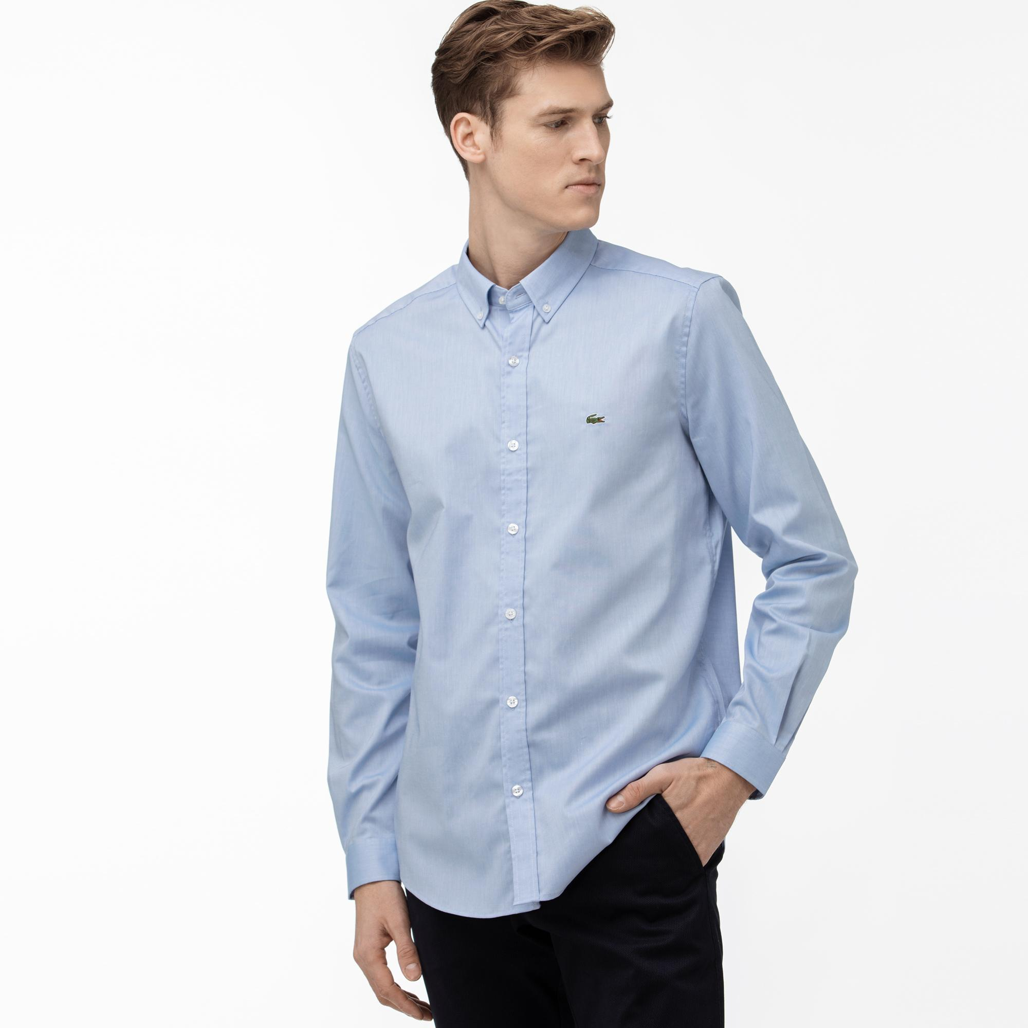 Lacoste Men's Regular Fit Cotton Oxford Shirt