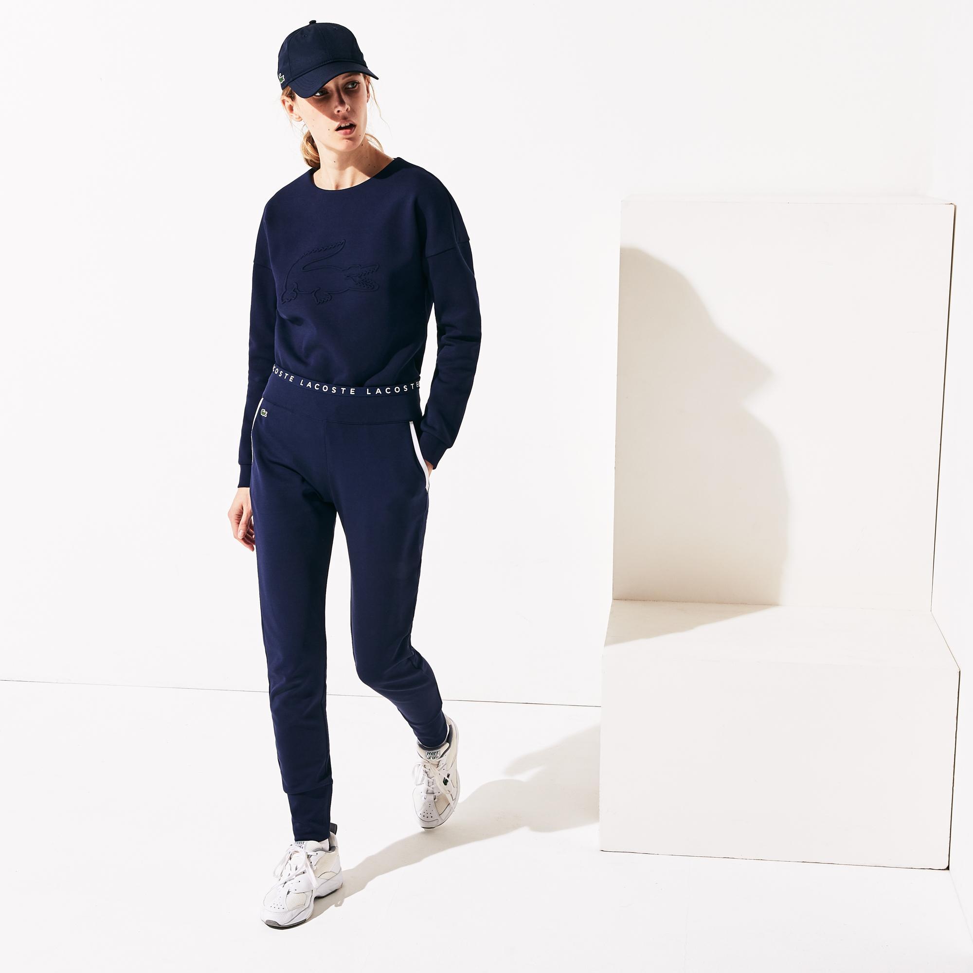 Lacoste Women's Sport Signature Waistband Tennis Trackpants