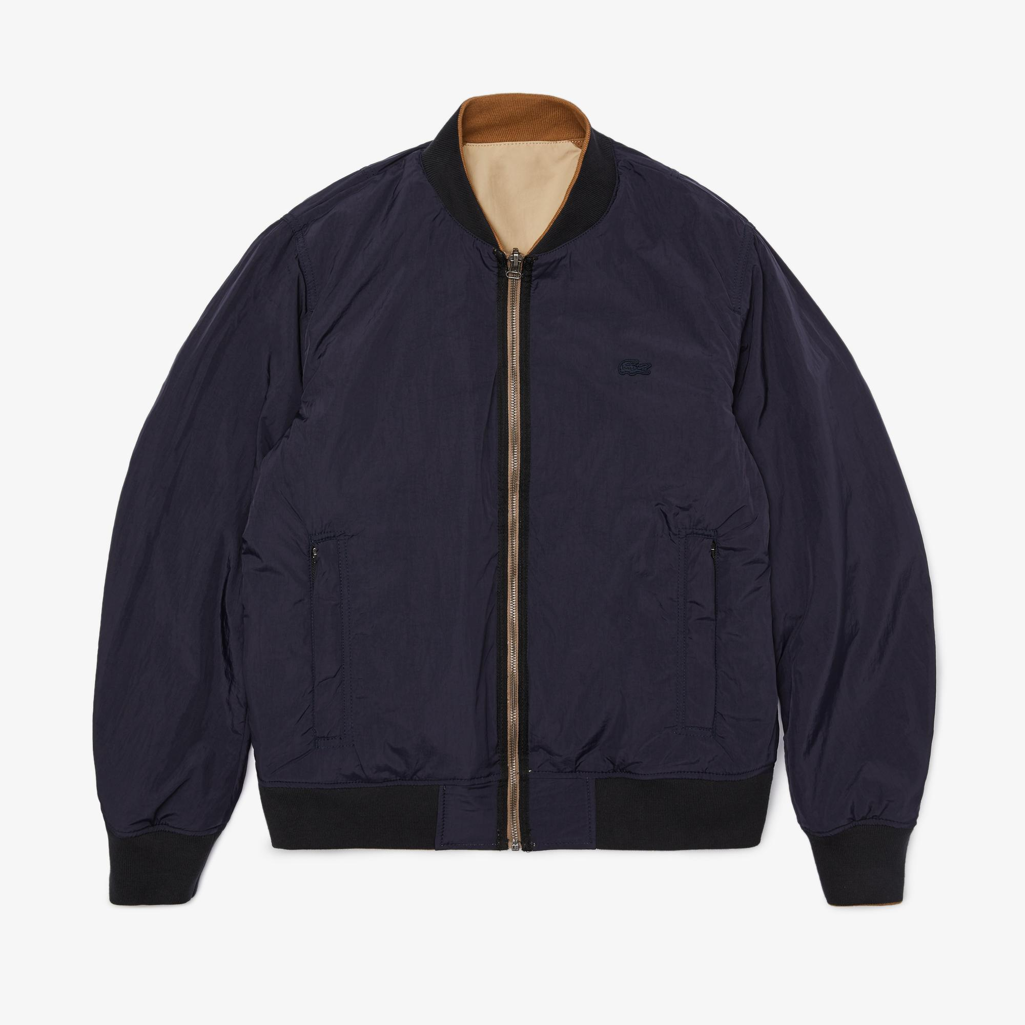 Lacoste Men's Bicolour Reversible Lightweight Bomber