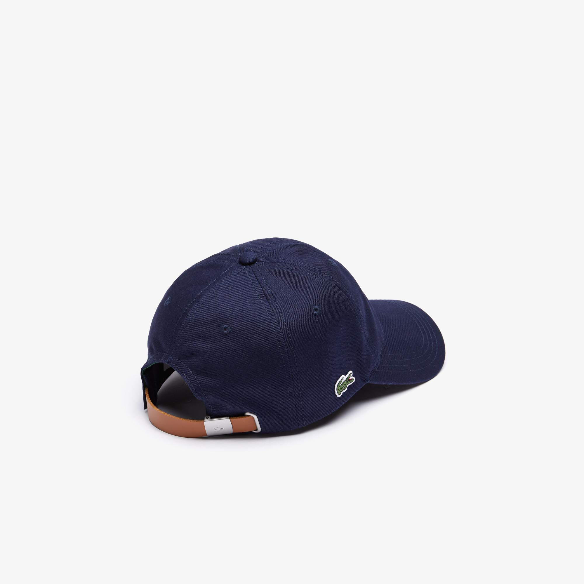 Lacoste Men's Contrast Strap Cotton Cap