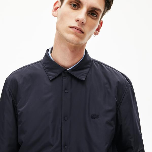 Lacoste Men's Padded Solid Overshirt