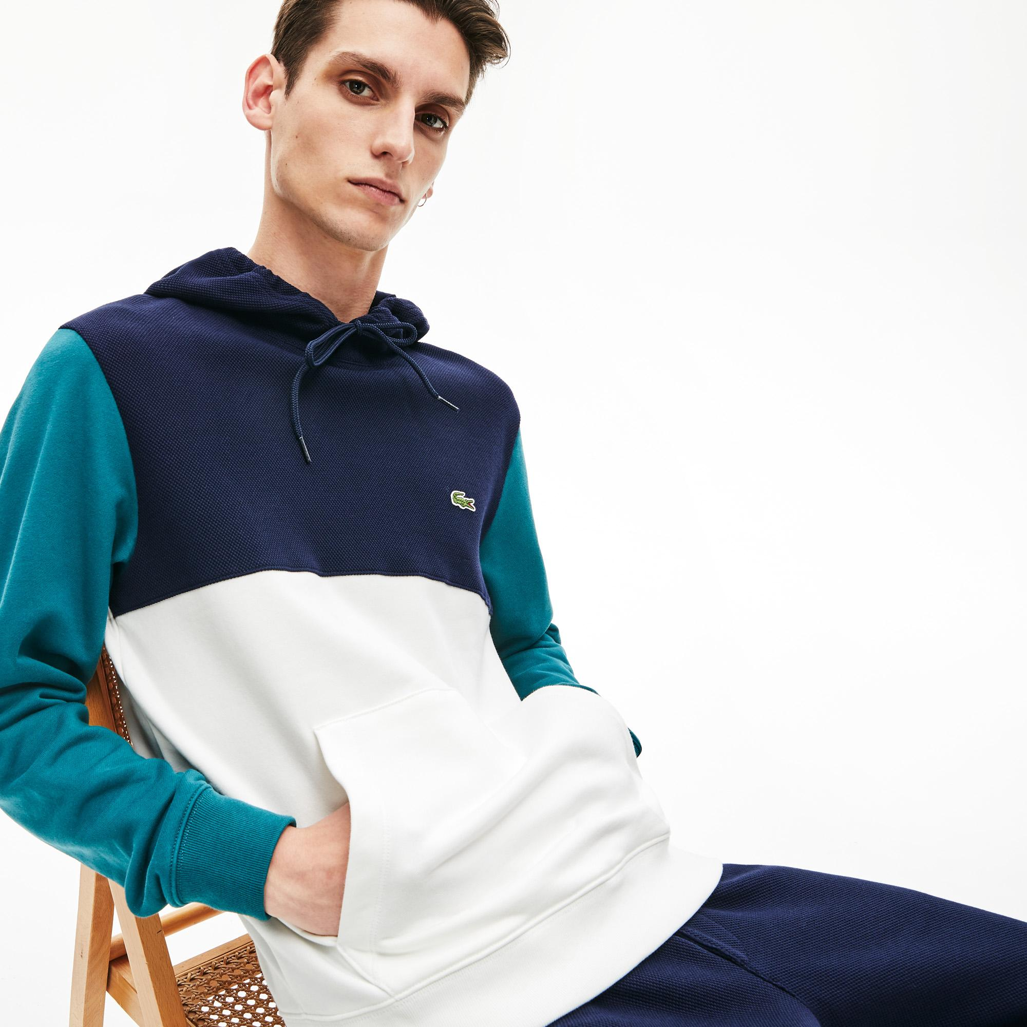 Lacoste Men's Colourblock Hooded Sweatshirt