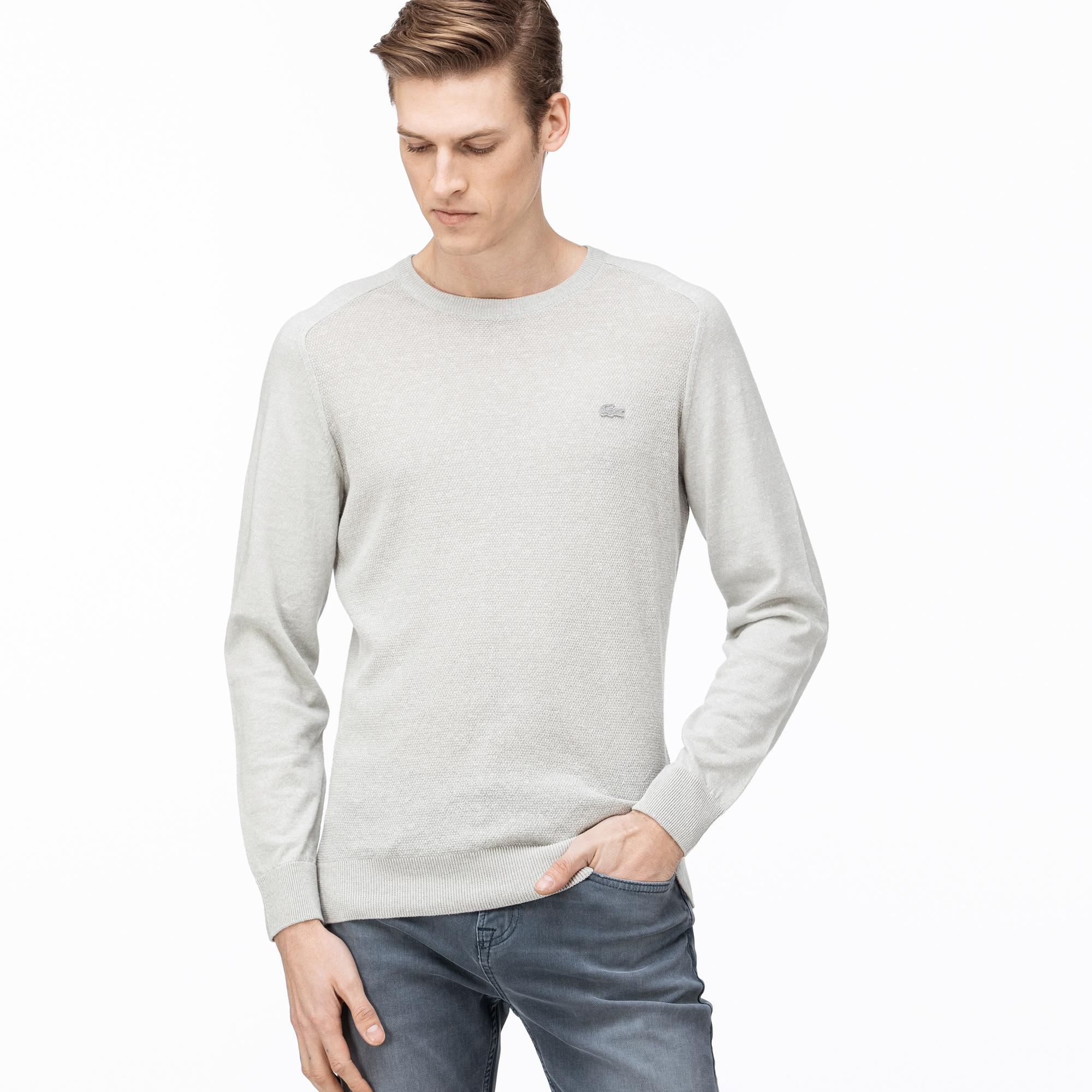Lacoste Men's Round Neck Tricot Sweater