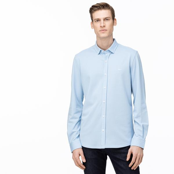Lacoste Men's Slim Fit Button-Down Collar Shirt