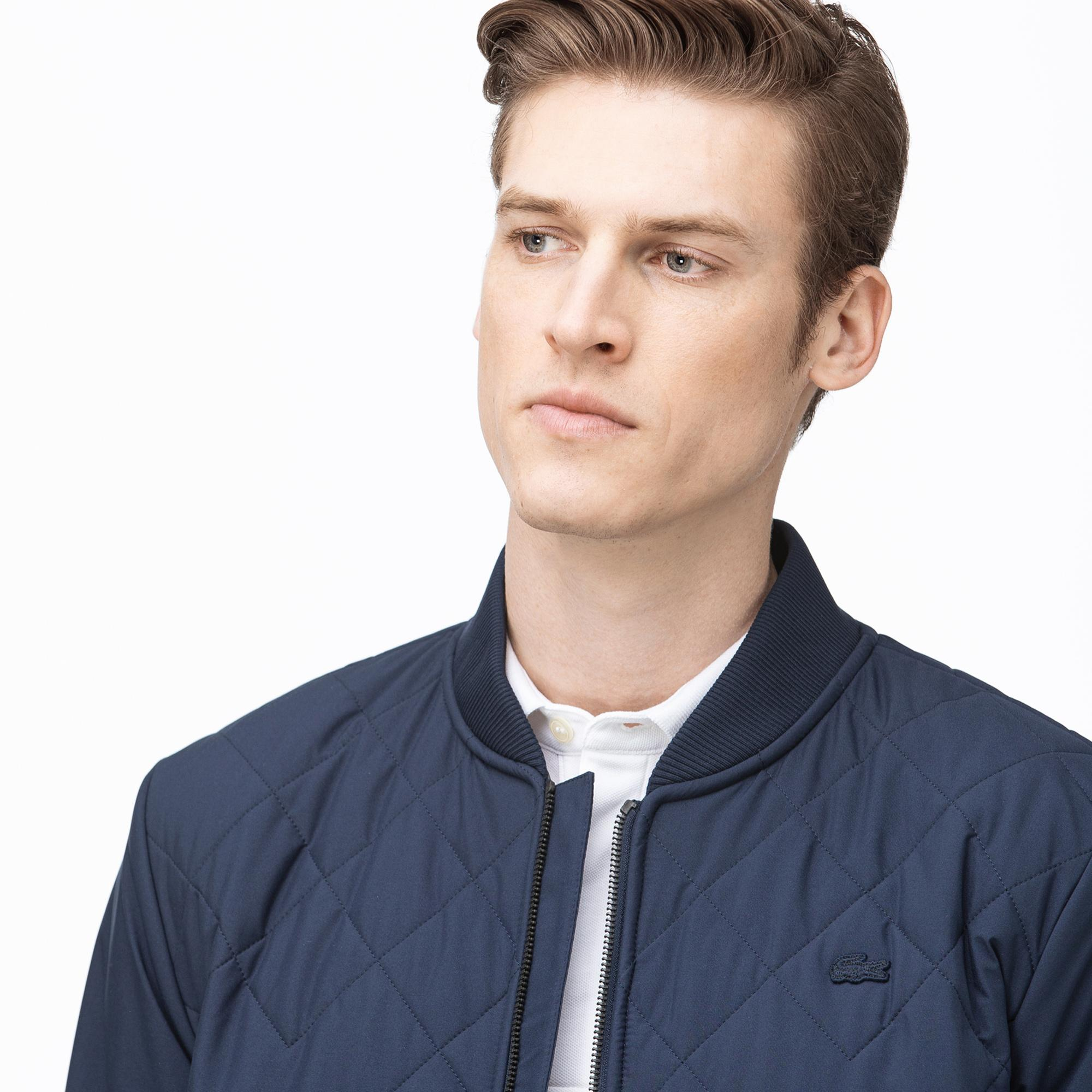 Lacoste Men's Quilted Zipped Sweatshirt
