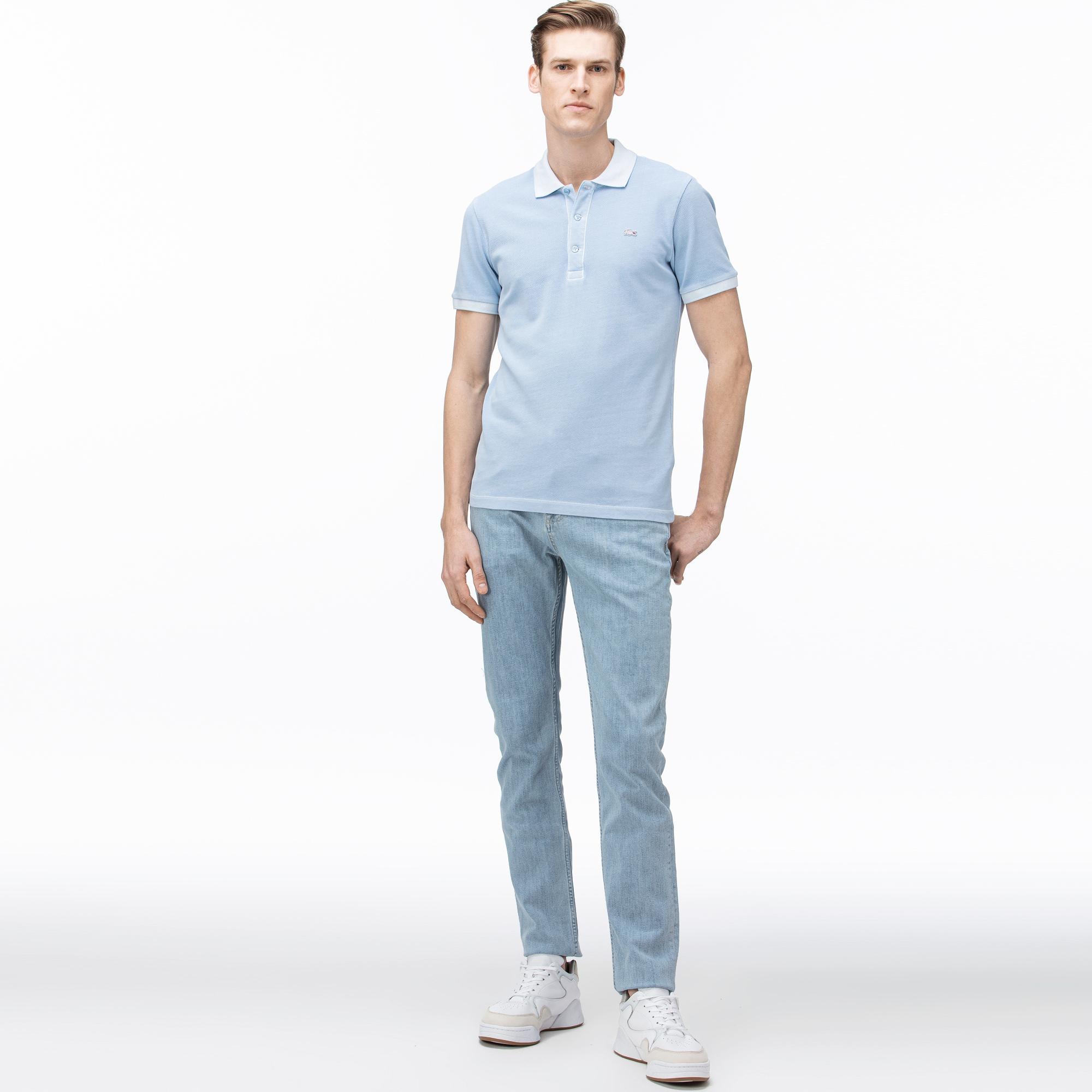 Lacoste Men's Slim Fit Stretch Denim 5-Pocket Jeans