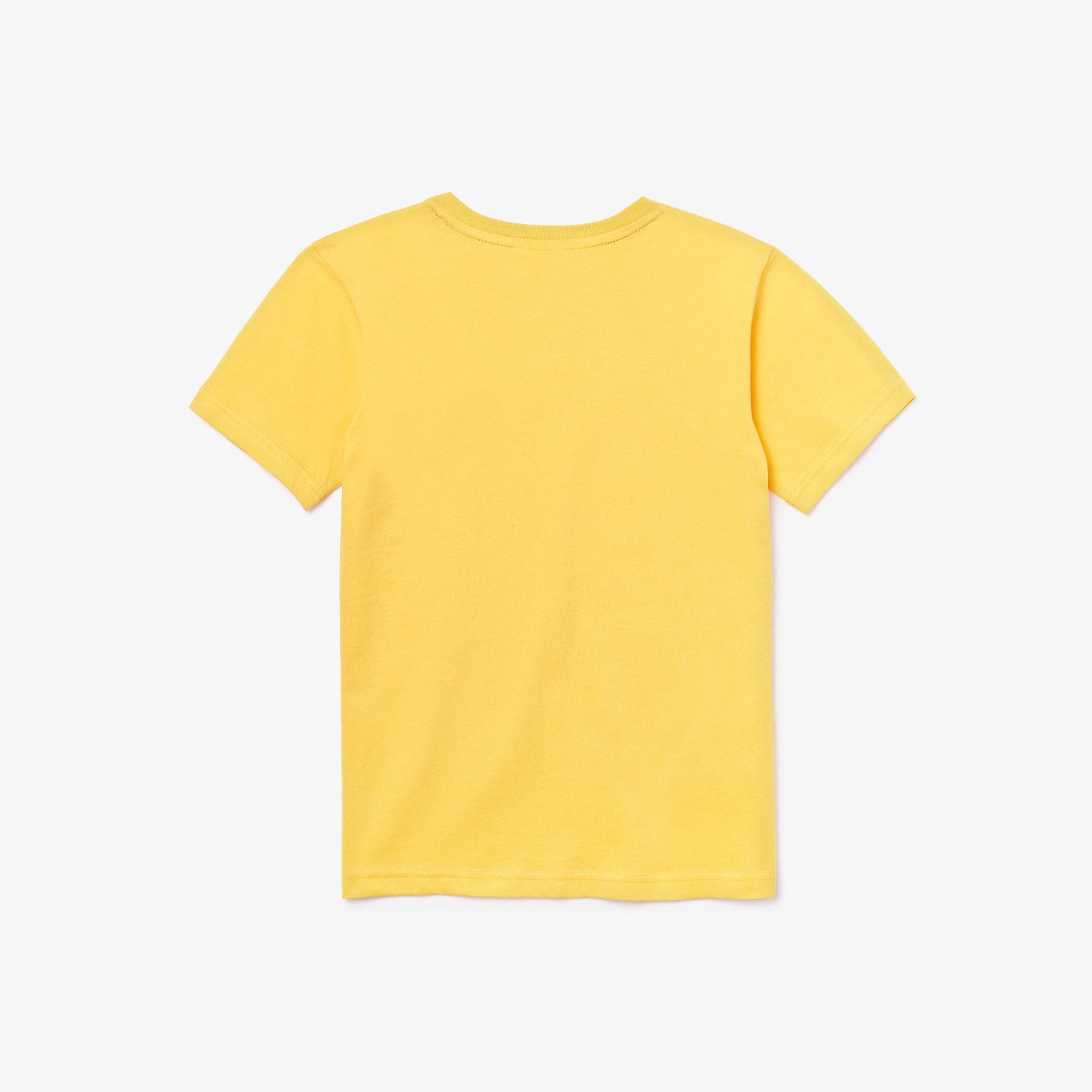 Lacoste Boys' Crew Neck Cotton Jersey T-Shirt