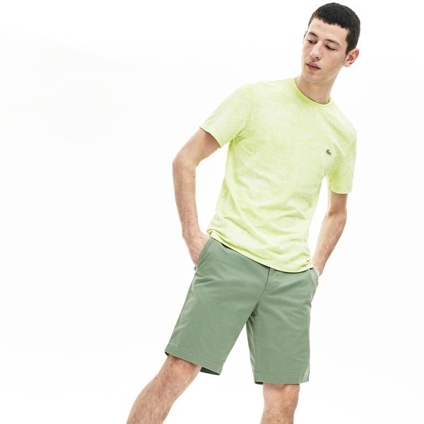 Lacoste Men's Slim Fit Stretch Gabardine Bermudas