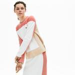 Lacoste Women's Colourblock Knit Crew Neck Sweater